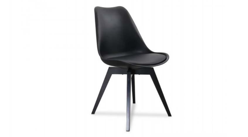 Stuhl Gina schwarz/schwarz