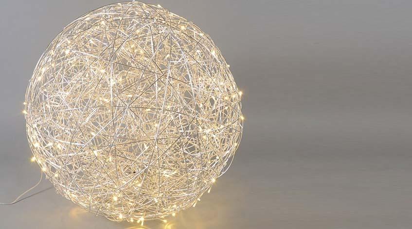 LED Kugelleuchte S