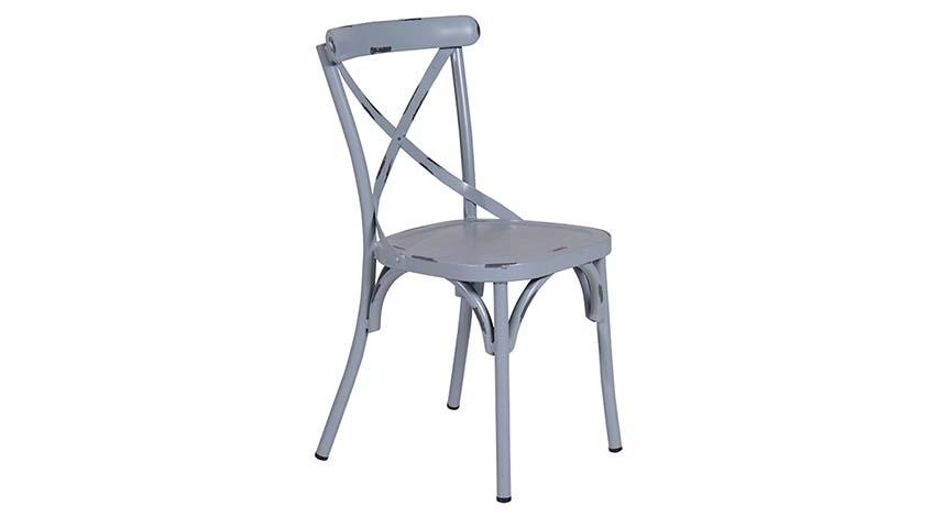 Stuhl Lou grau