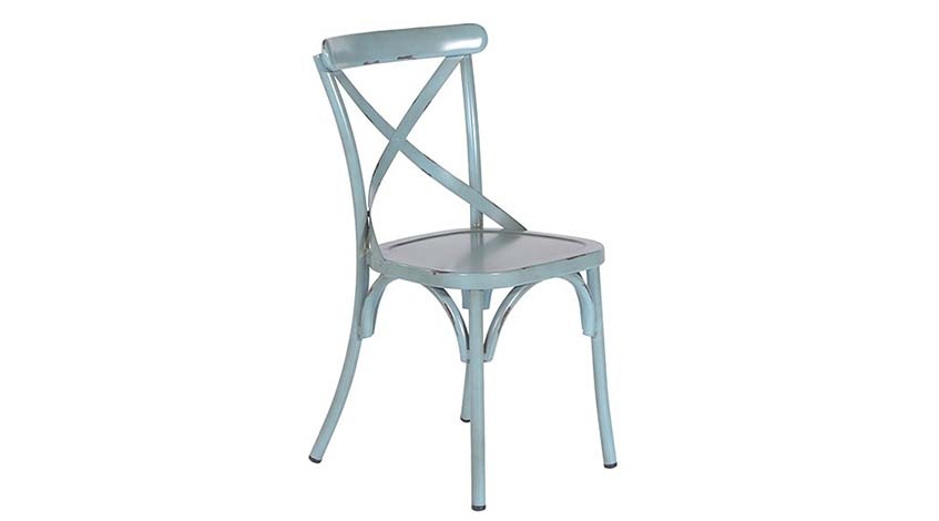 Stuhl Lou blau