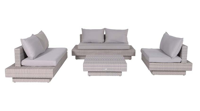 Lounge Set 4-teilig Kapstadt