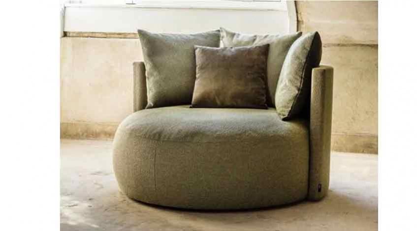 Round Lounge Sessel